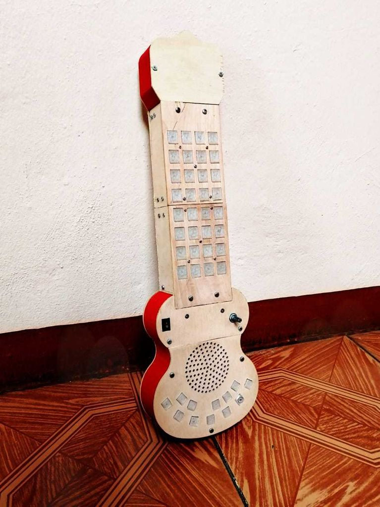 Picture of Design and Build an Didactic Ukulele.