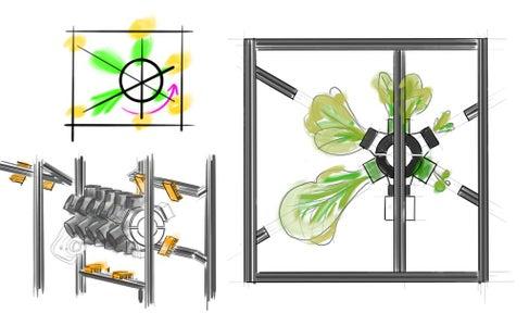 Designing the Zero G Hydroponic System