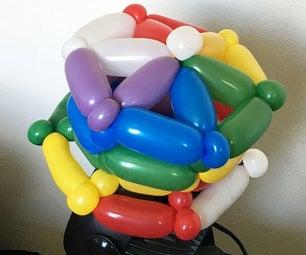 Animal Crossing Rainbow Balloon Hat