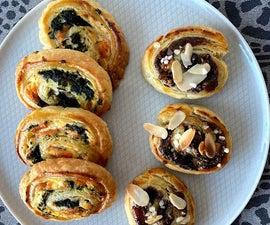甜的或咸的Rugelach饼干