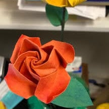 How To Make Origami Rose Easy 2017 || Origami Twisty Rose (HD ... | 216x216