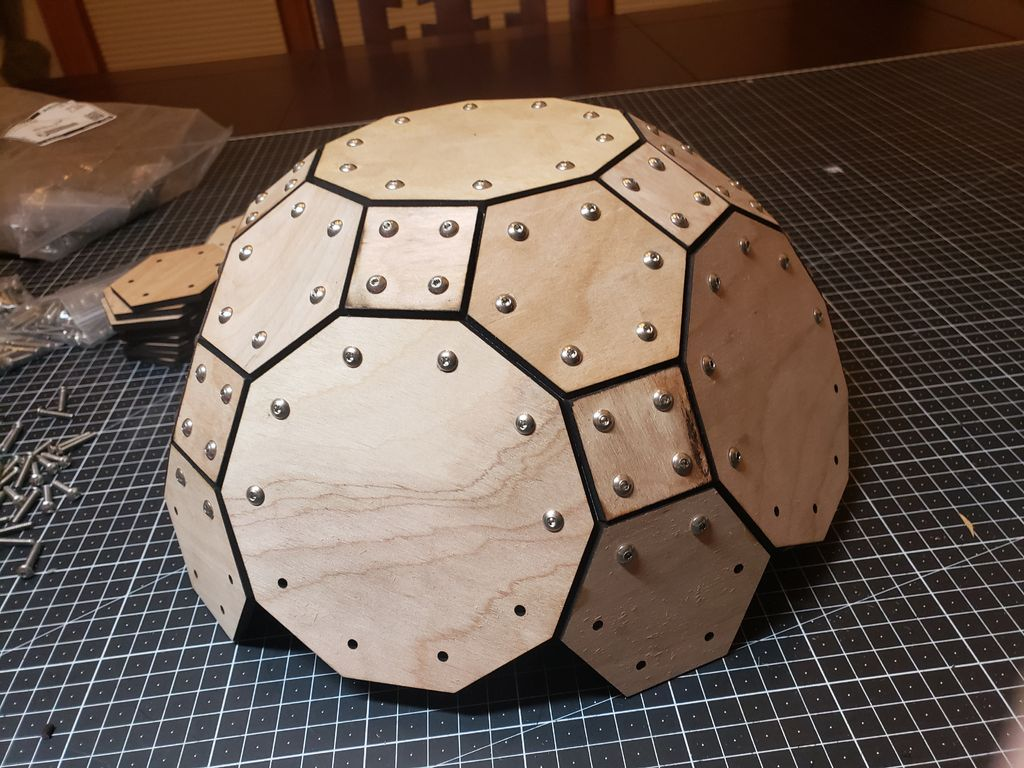 Picture of Assembling the Truncated Icosidodecahedron