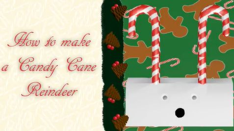 Picture of DIY How to Make a Candy Cane Reindeer | the Mustard Seed Life