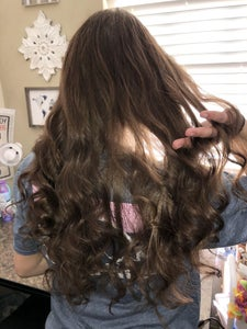 Finish Curling and Use Hairspray (optional)