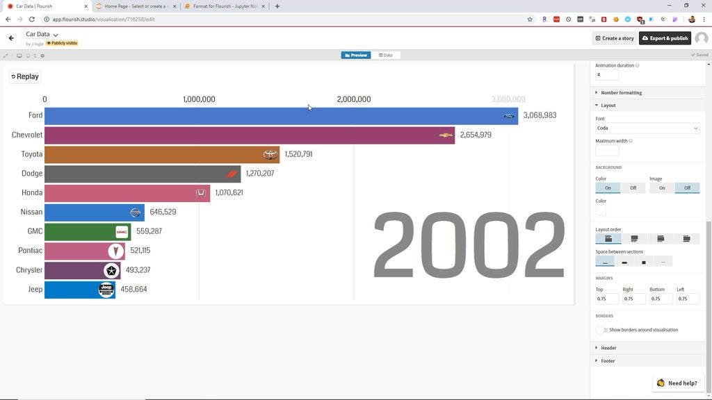Picture of Customize the Visualization