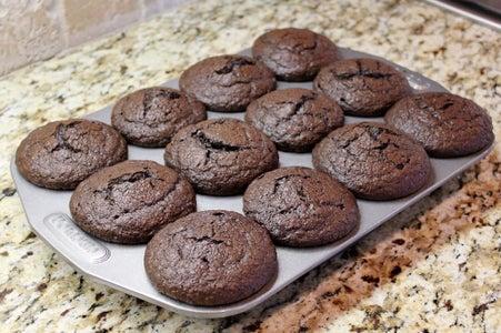 Chocolate Spinach Sweet Potato Muffins (gluten Free)