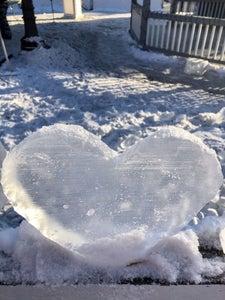 Beginner Ice Carving