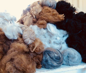 Alpaca Fleece . . . . Now What?