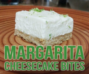 Margarita Cheesecake Bites