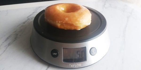 的Krispy Kreme的甜甜圈研究和观察