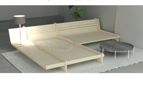 Enjoy Your New DIY Sofa Bed Frame!