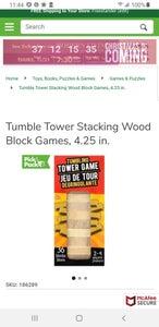 DIY Dollar Tree Tumbling Block Tree