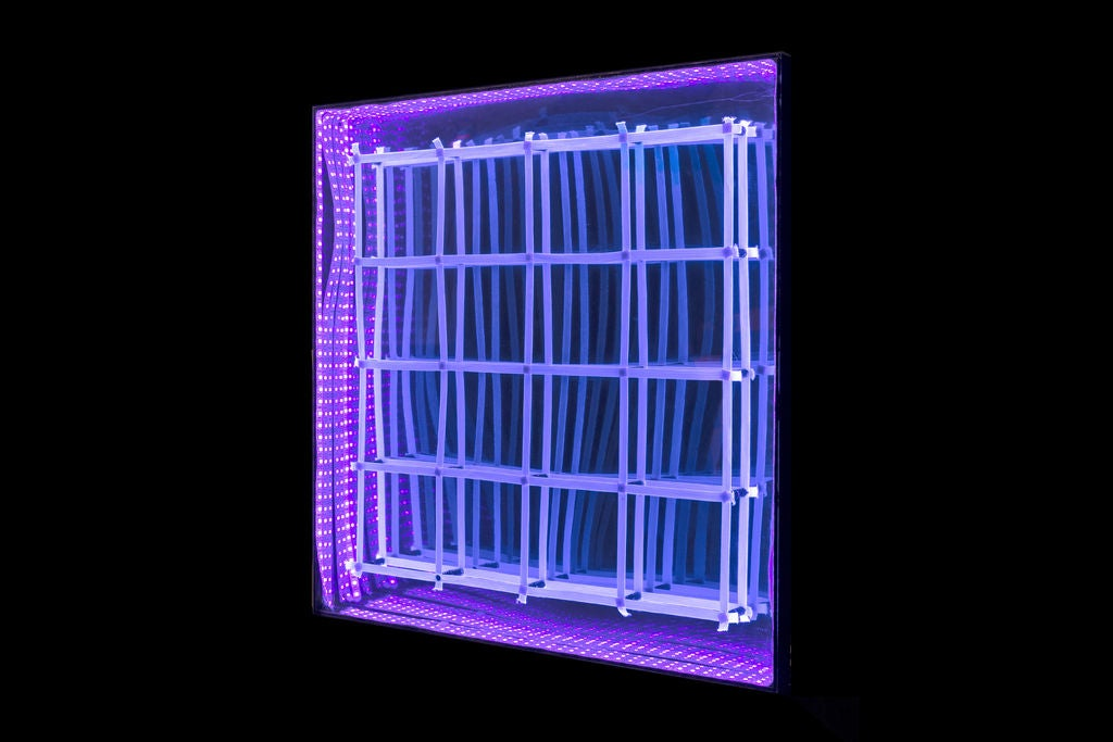 Picture of Moving Grid With Infinity Mirror