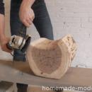 Grind Log Into Shape