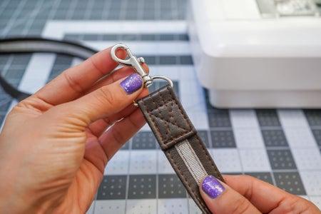 Attaching the Crossbody Strap Hardware