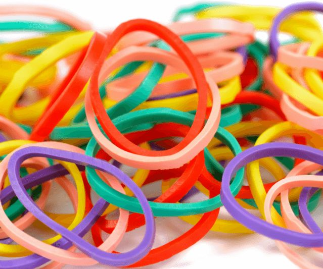 Tips on How to Store Rubber Bands