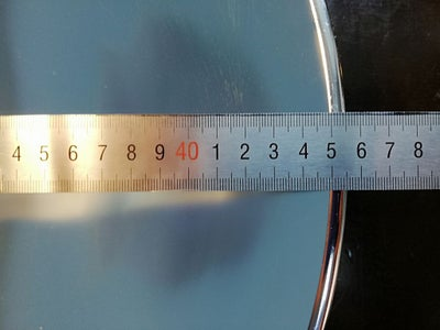 Determine the Focal Length of the Parabolic Reflector