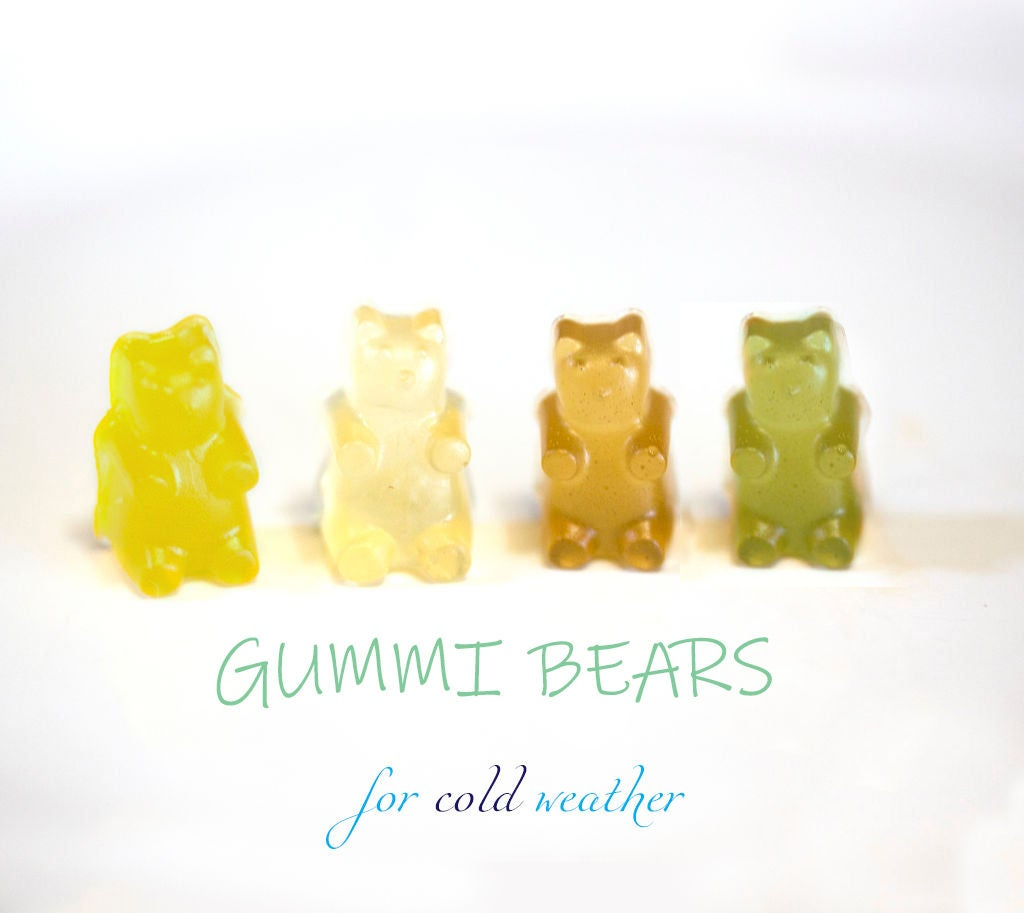 Picture of Gummy Bears for Cold Weather