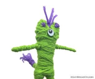 Creepy Posable Yarn Friend