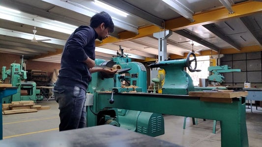 Making of Wooden Base