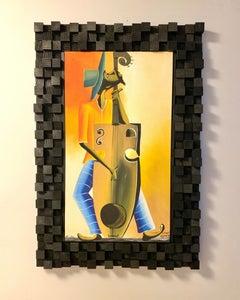 Coolest Way to Frame Canvas Art: the Soundboard Frame!