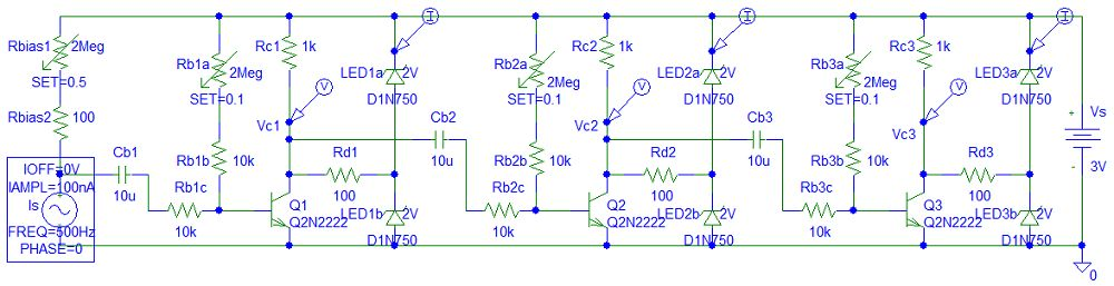 AC LED Amplifier