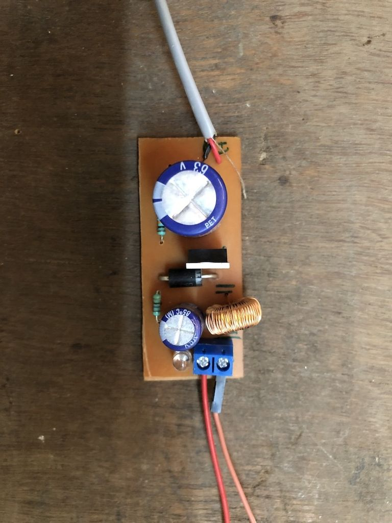 Picture of DC – DC Voltage Step Down Switch Mode Buck Voltage Converter (LM2576/LM2596)