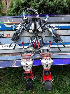 Ski Chair and Robot