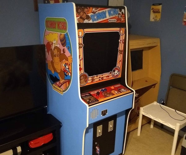 Donkey Kong Arcade Scratch Build