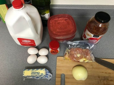 Step1: the Recipe