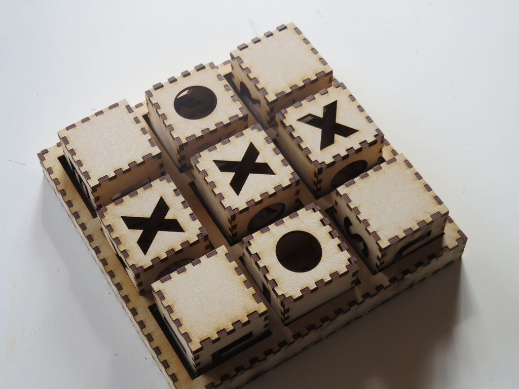 Picture of Tic Tac Toe Spel