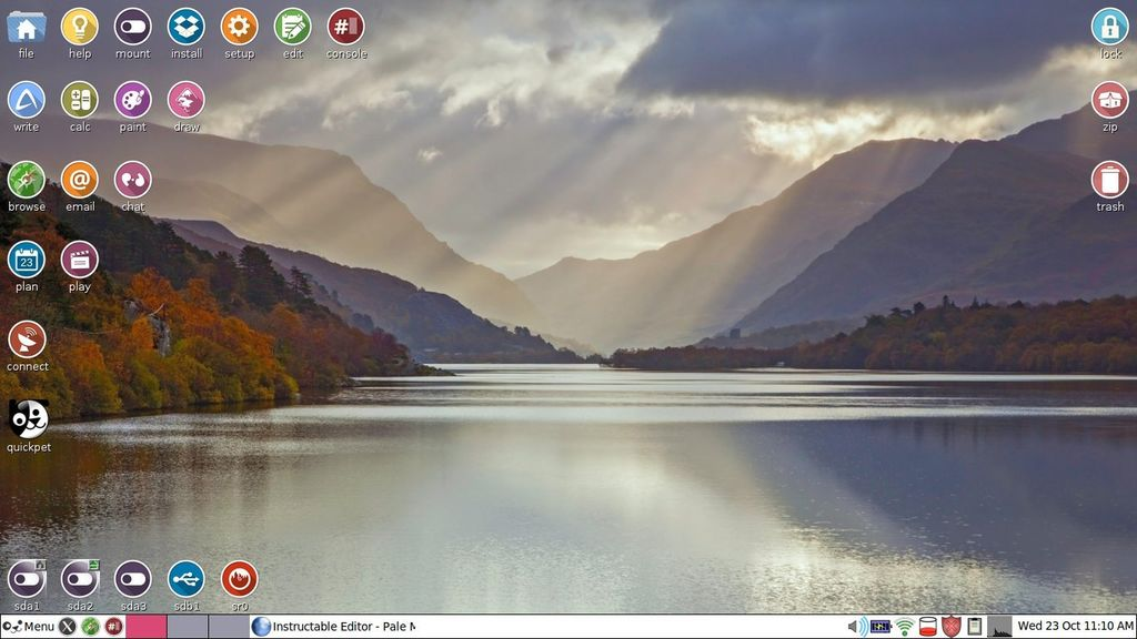 Picture of Let Tahrpup Linux Replace Windows 7