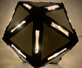 Icosahedron(D20) Lamp