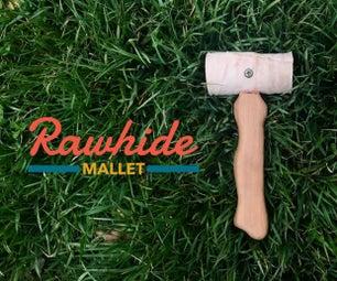 Rawhide Mallet From Dog Bone