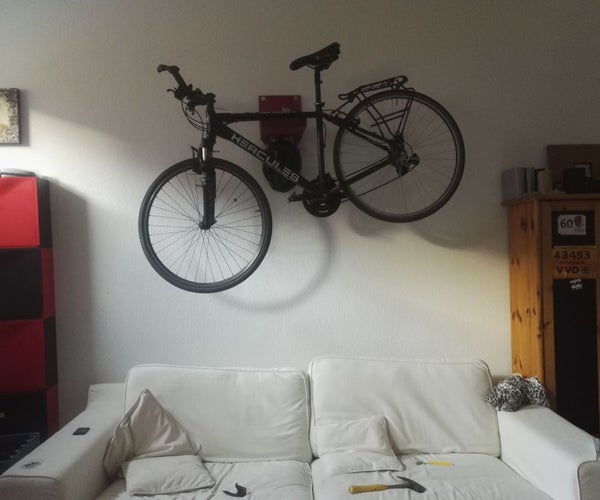 DIY Low-cost Bicycle Wall-mount