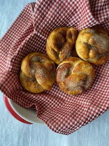 Sweet and Savory Soft Pretzels