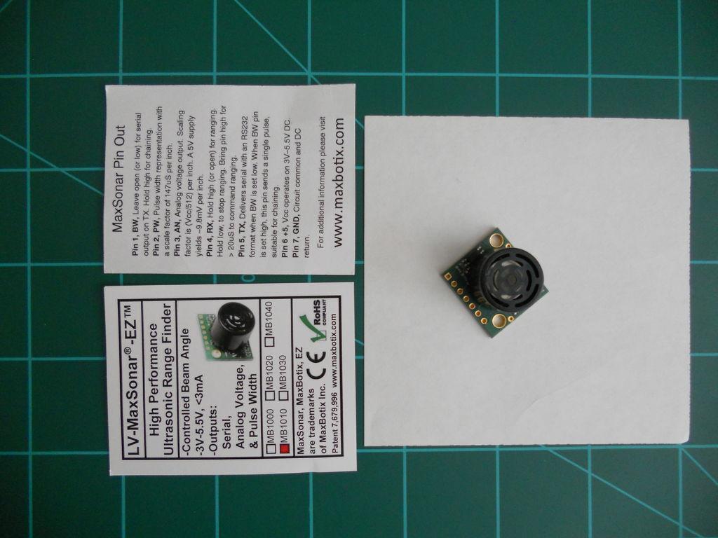 Picture of Wire Up the LV-MaxSonar-EZ
