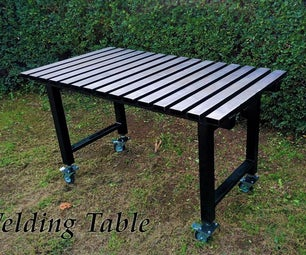 How to Make a Low Cost  Welding Table