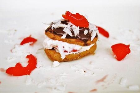 Chocolate-Cherry Roll Cookies
