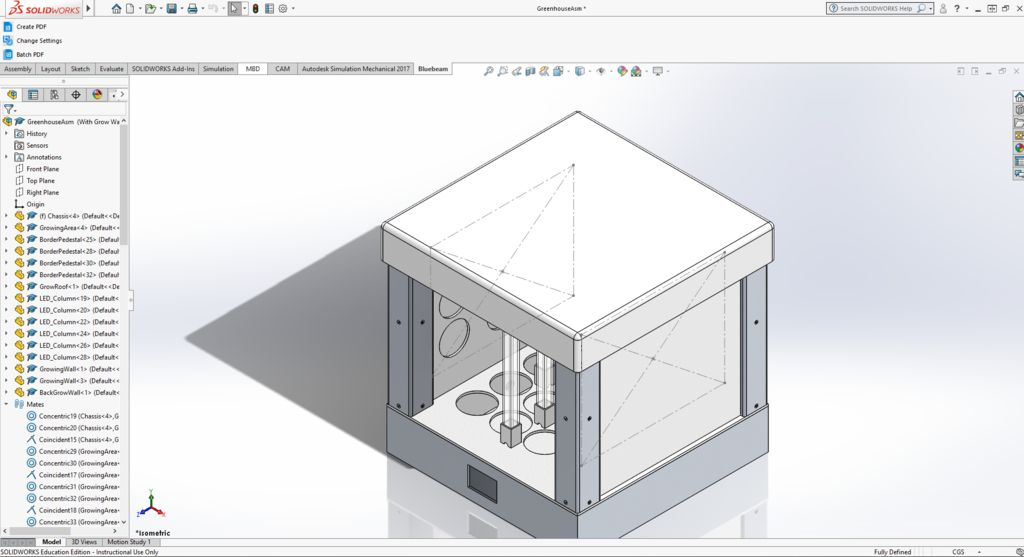 Picture of The Aeroponic 3D Greenhouse (3D Model)