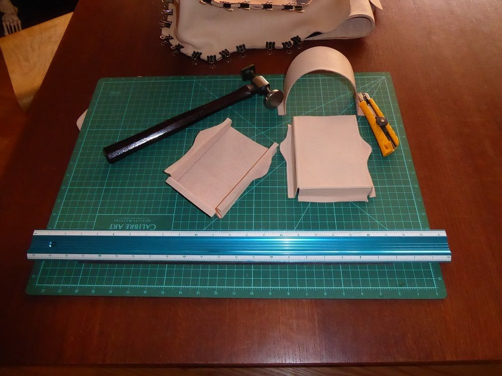 Picture of Cutting Out the Parts