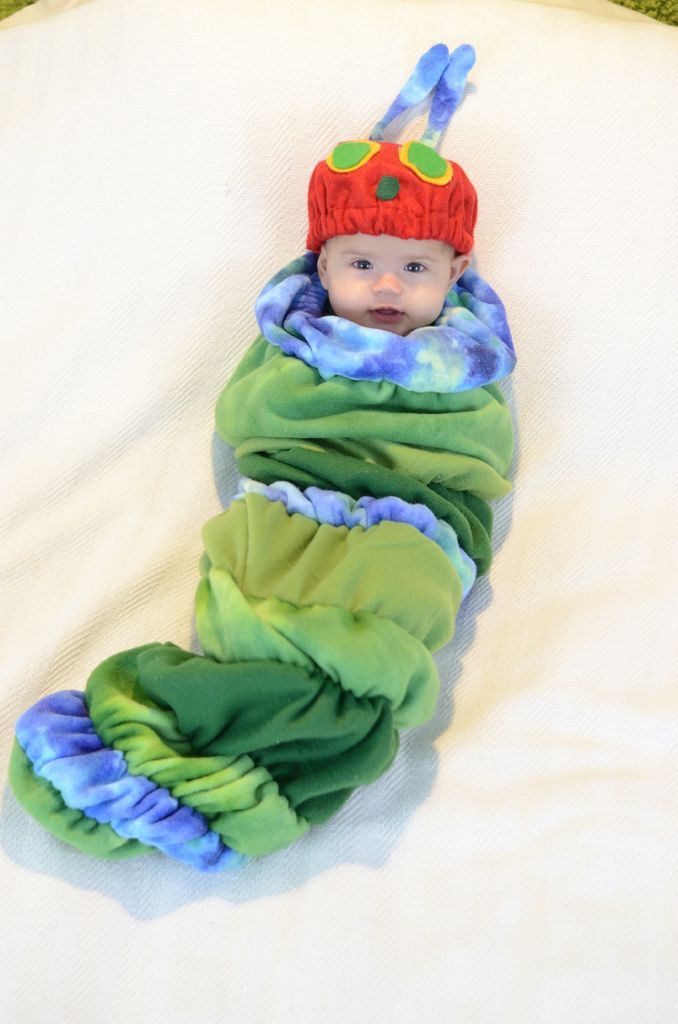 Picture of Hat Turned Caterpillar Face