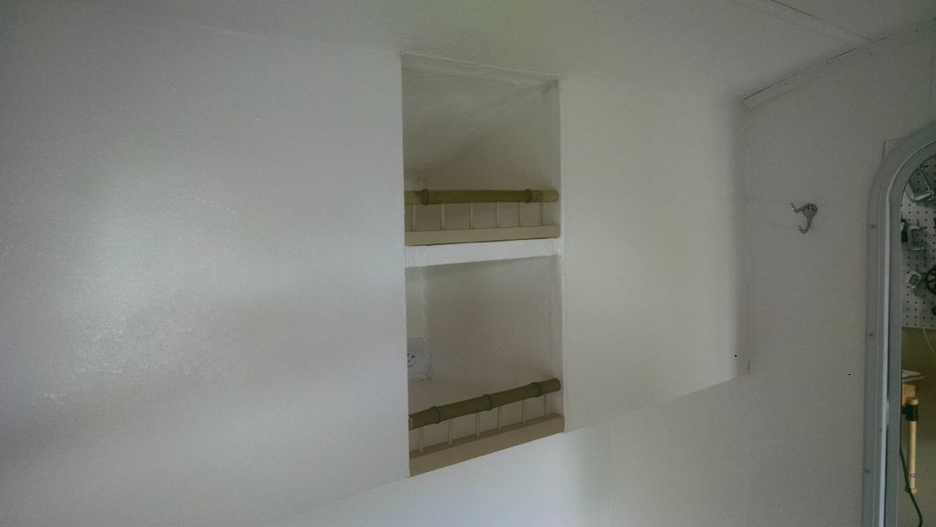 Picture of Shelving at Rear and Front Storage