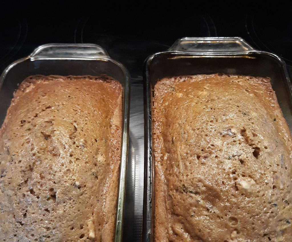how to make zucchini bread from frozen zucchini  3 steps
