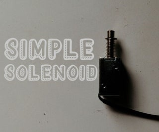 Control a Solenoid With a D1 Mini Micro-controller and Push Button