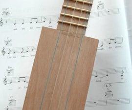Sq'Ukulele - Make Plywood Ukulele From Hardware Store Items