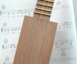 Sq'Ukulele  - 制作胶合板四弦琴从五金商店物品