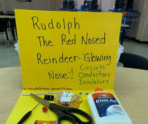Rudolph the Red Nosed Reindeer- Glowing Nose