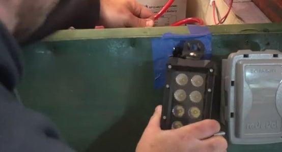 Add an External Outlet and Light