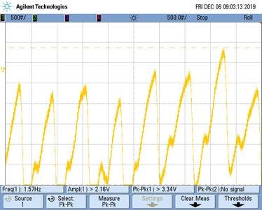 Test the Circuit on a Oscilloscope